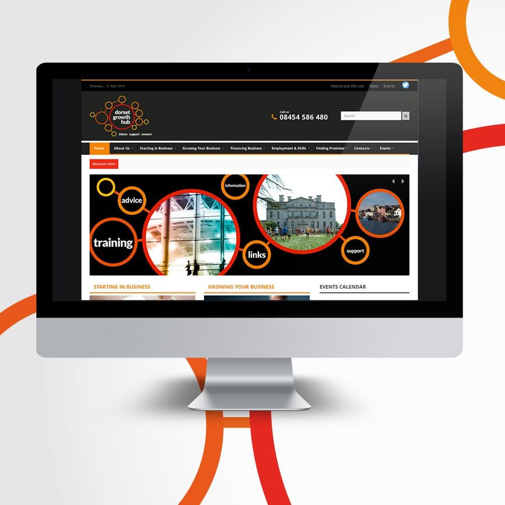 Dorset Growth Hub Website Design