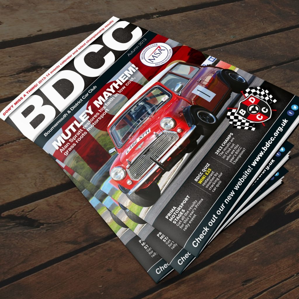Bournemouth & District Car Club magazine pile