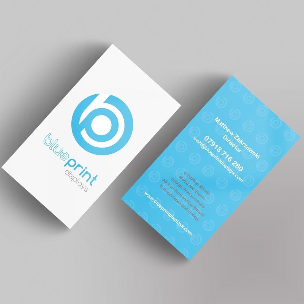 Blueprint Displays business cards