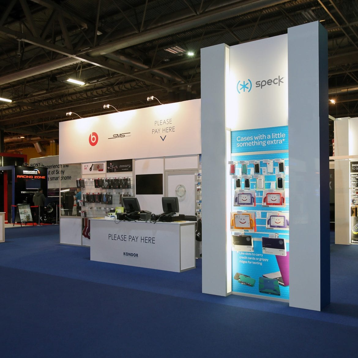 blueprint displays exhibition stand design