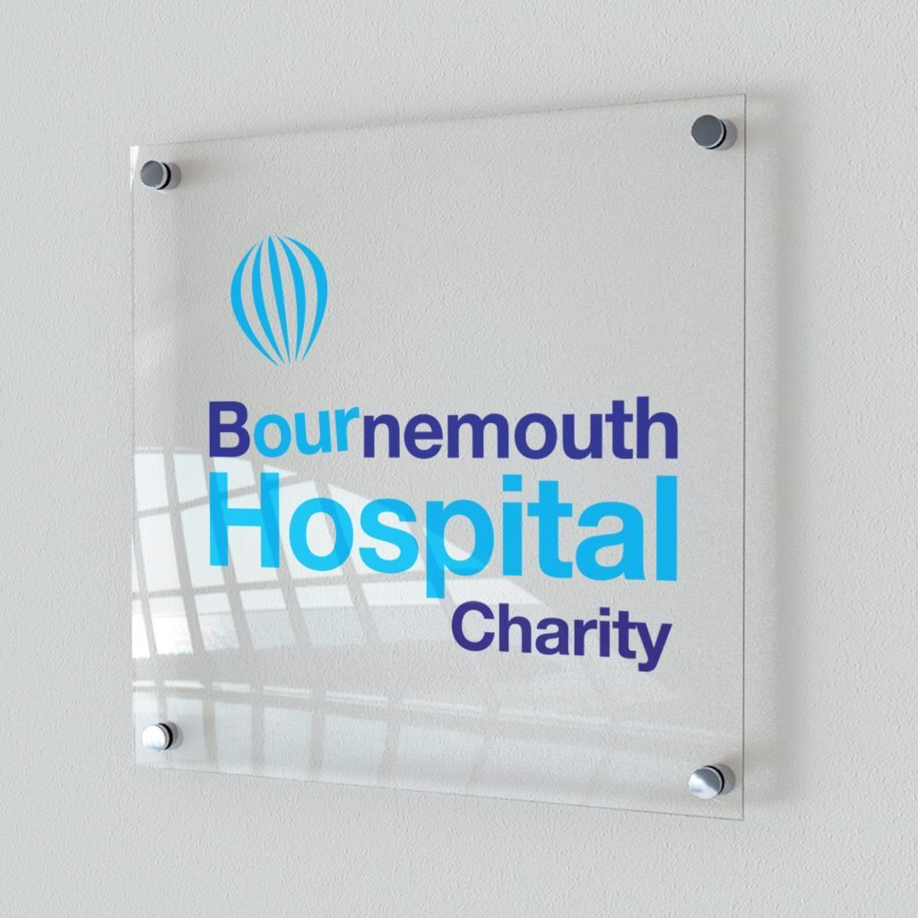 NHS Foundation Trust signage