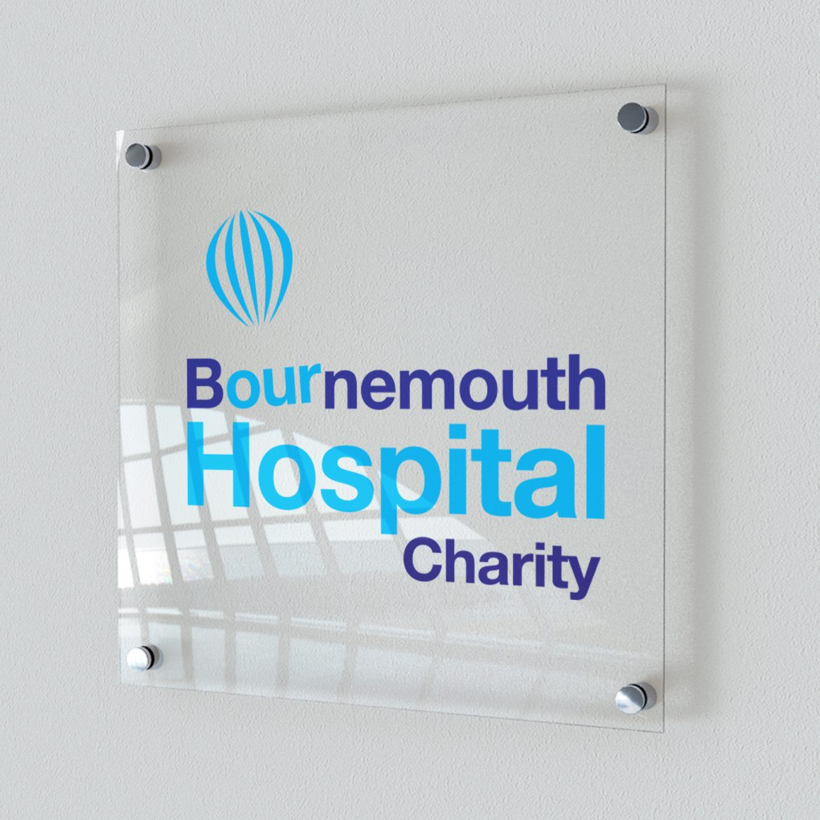 NHS Foundation Trust signage