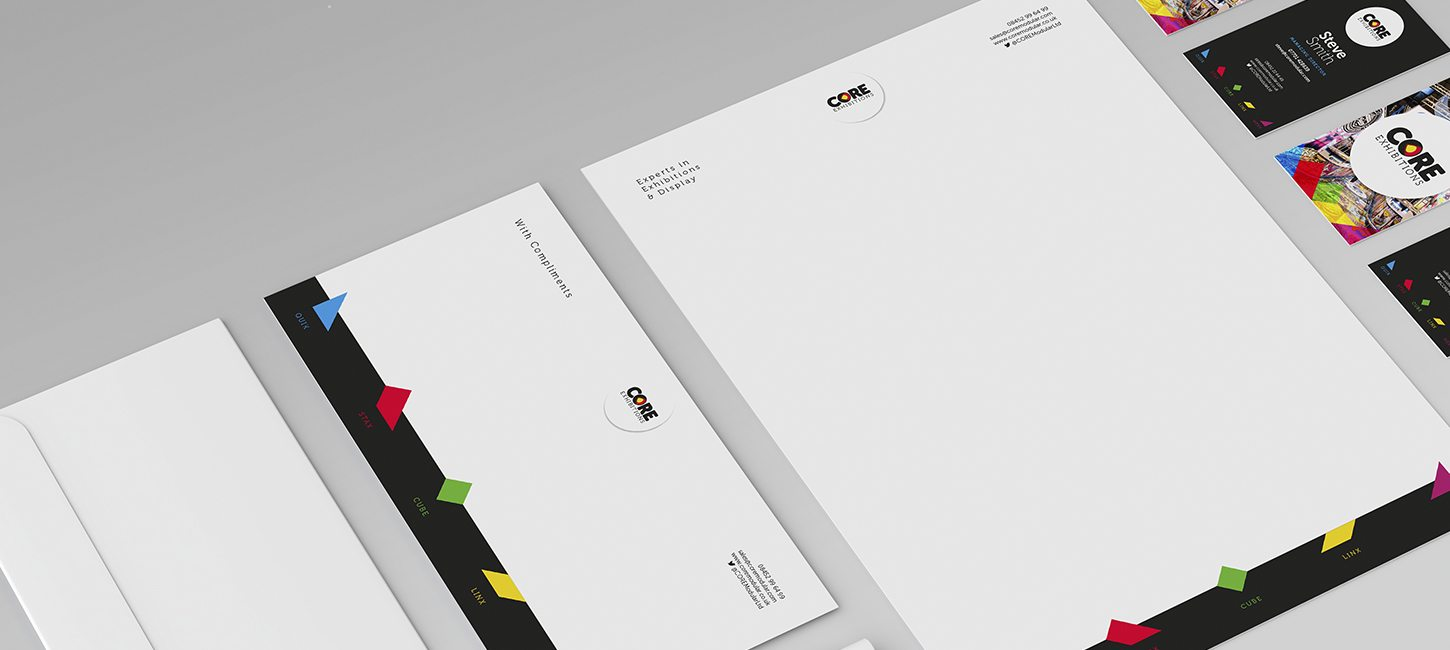 Branding and Stationary Design for Core Modular