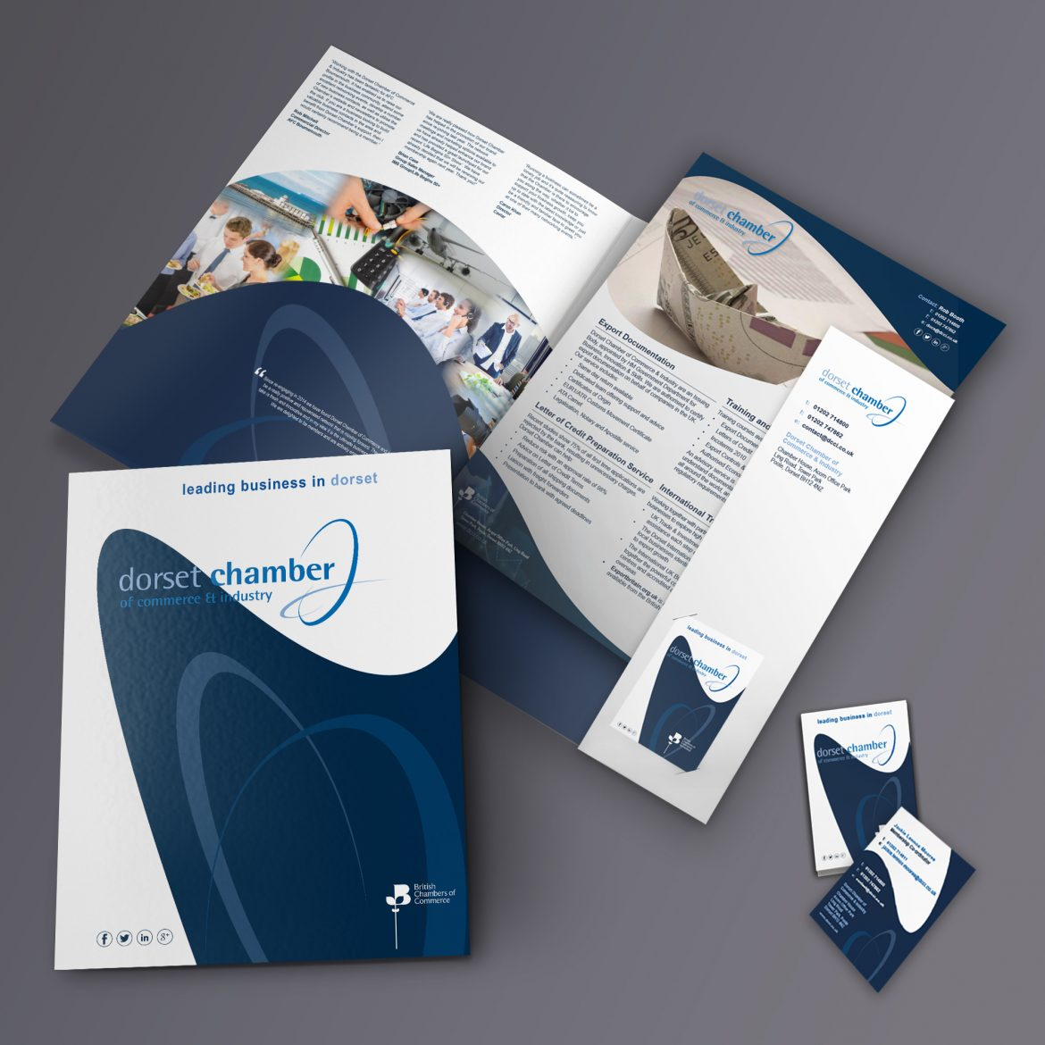 dcci stationary pack design