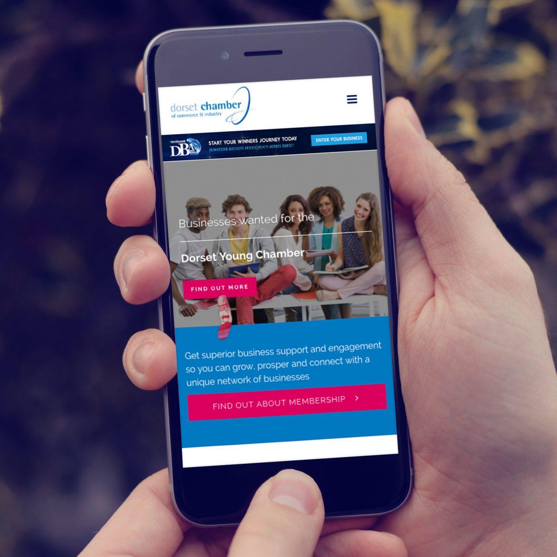dcci website mobile responsive