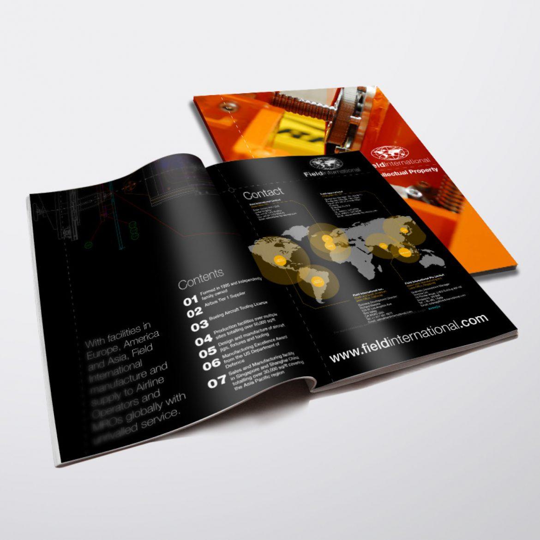 Field International Brochure Design