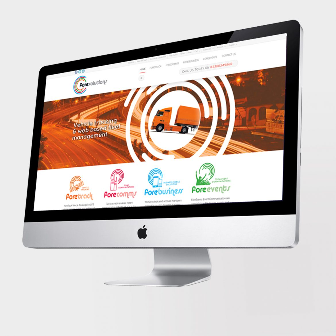 Fore Solutions Web Design