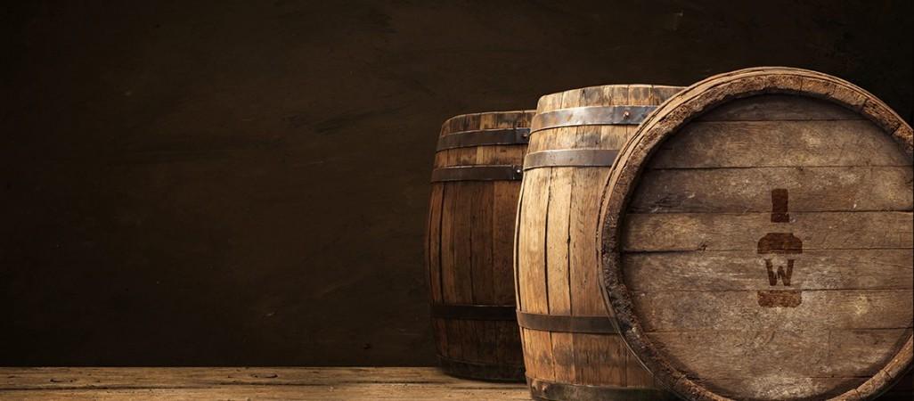 Live Whiskey barrels