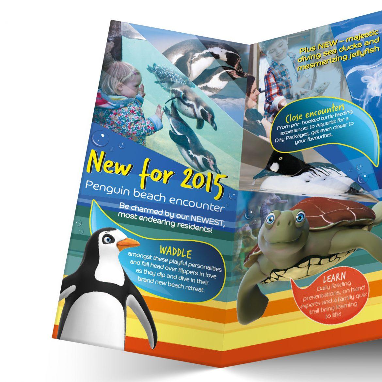 Oceanarium Leaflet Design