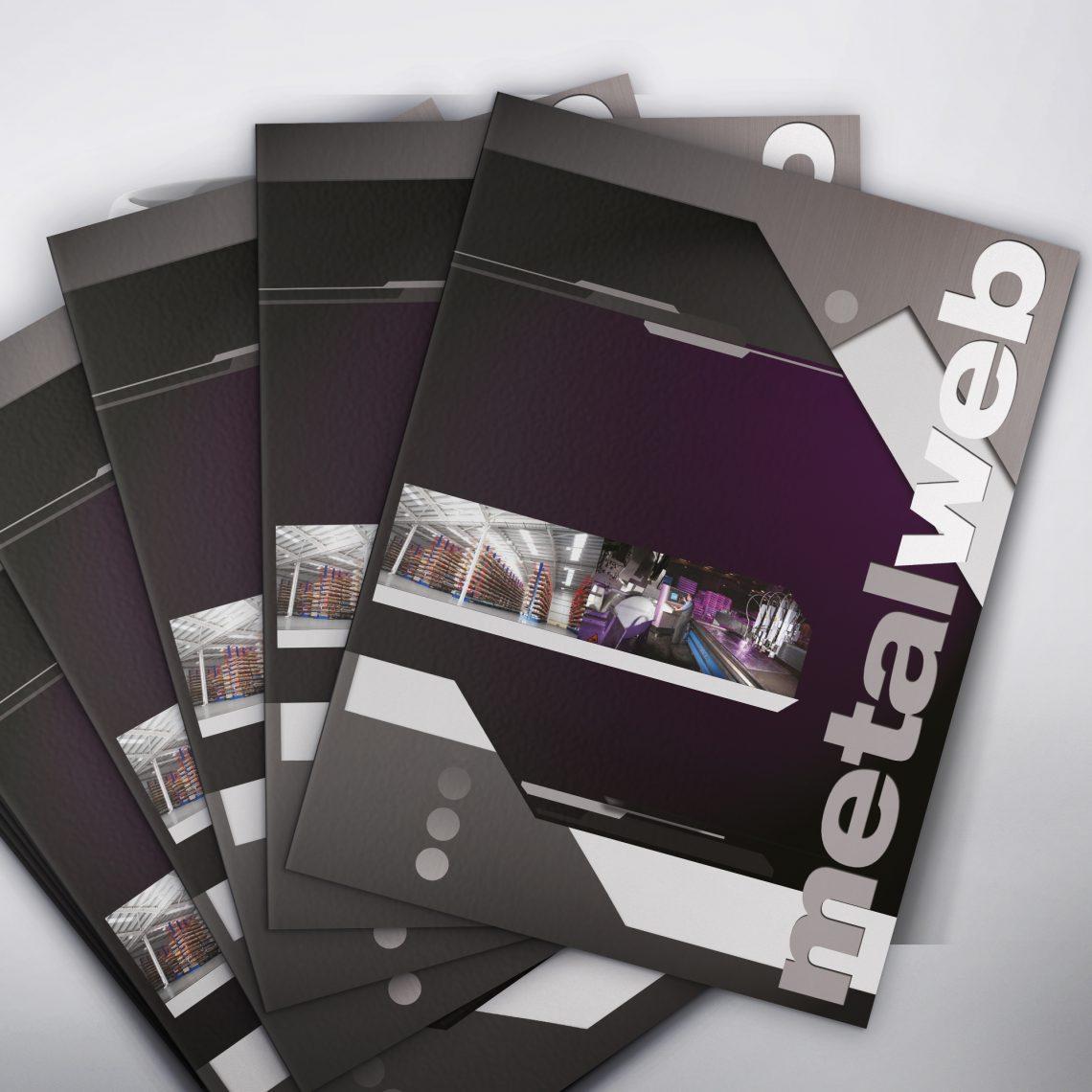 metalweb folder design