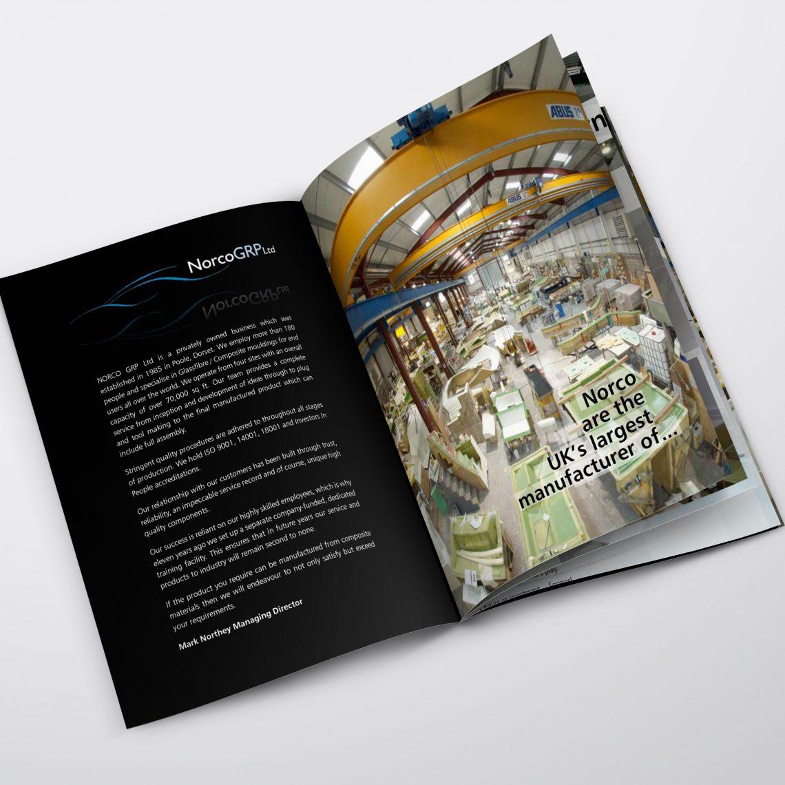 norco booklet design