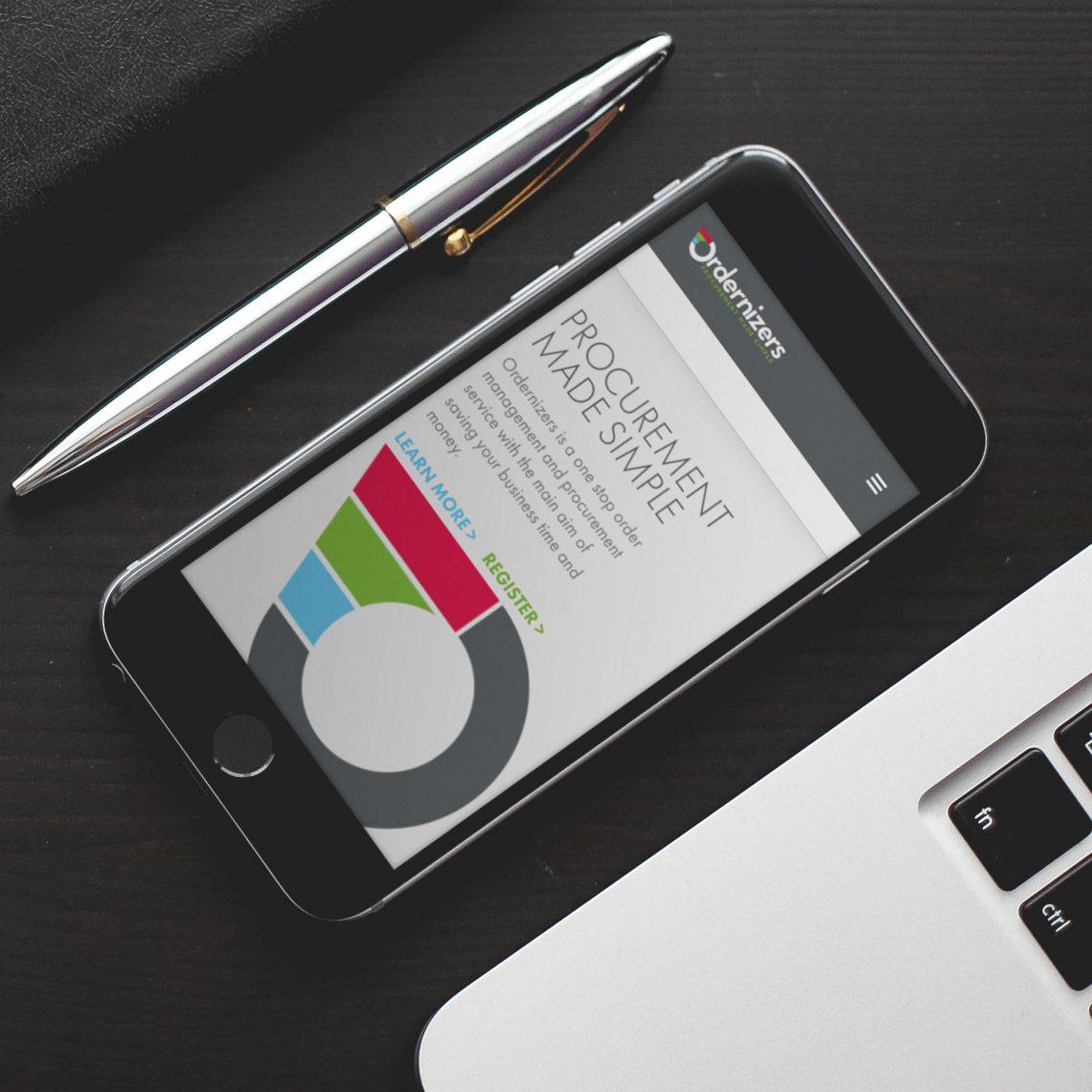 ordernizers website mobile responsive