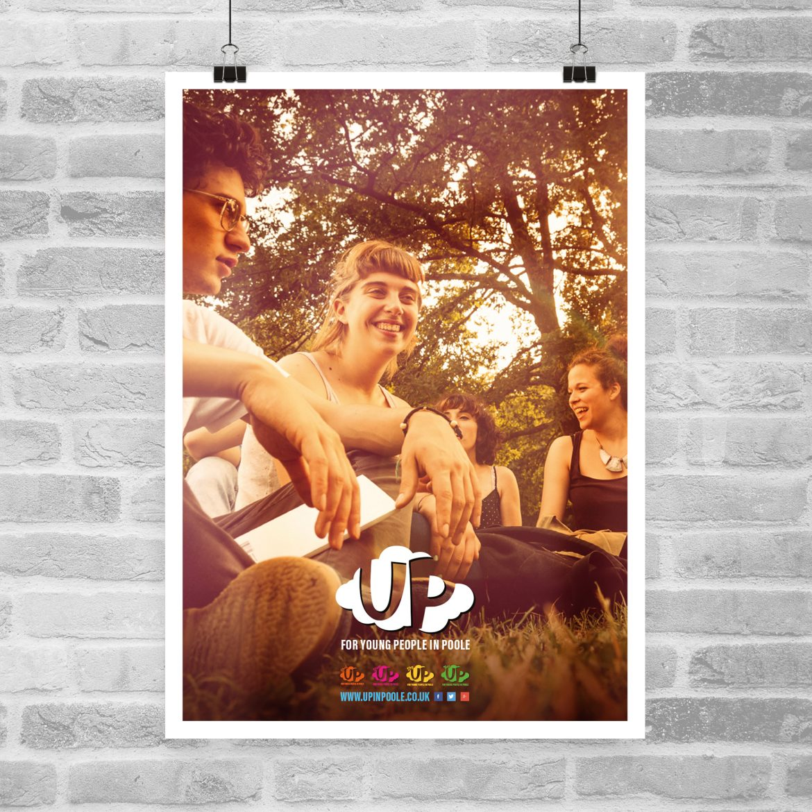 up poole poster design
