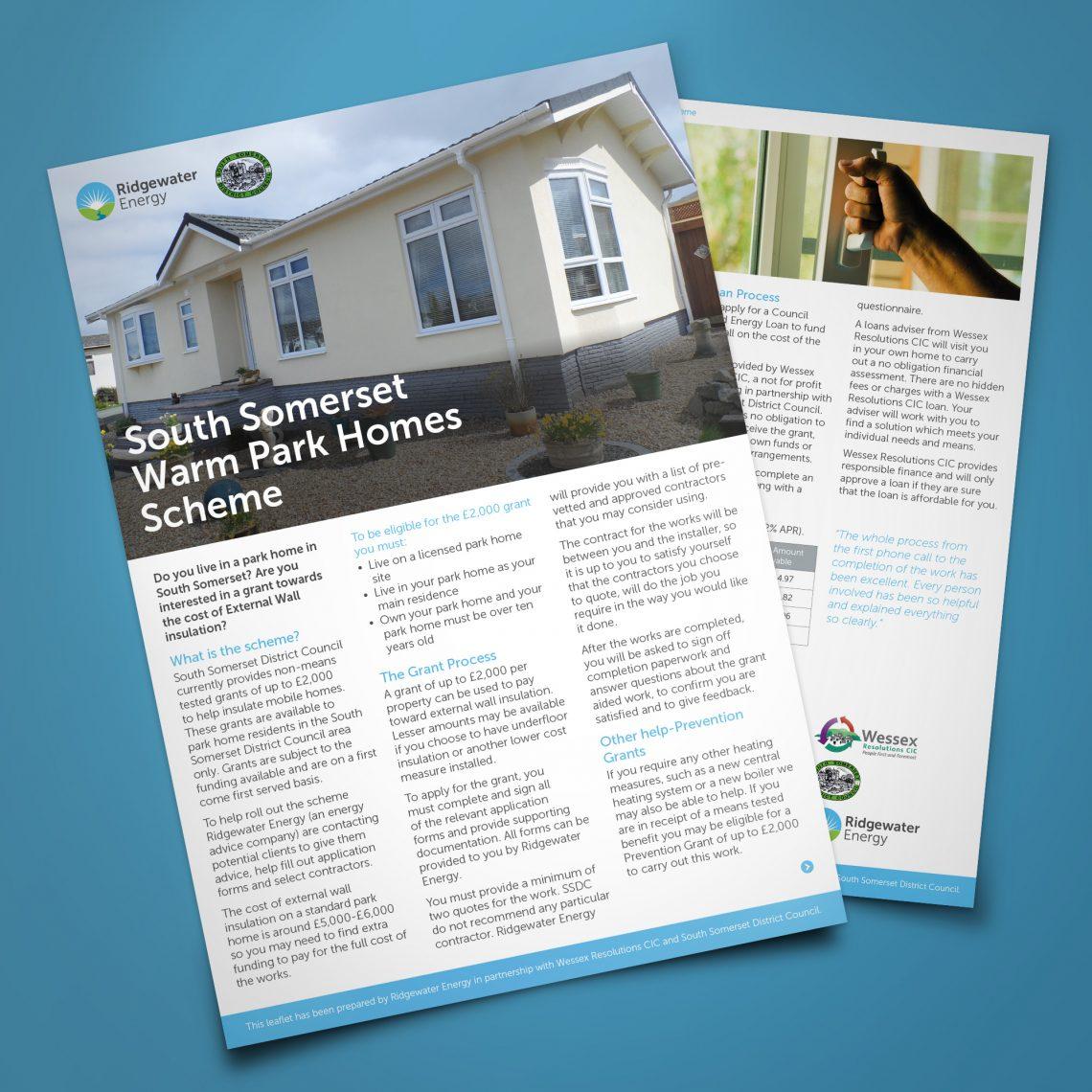 ridgewater energy brochures