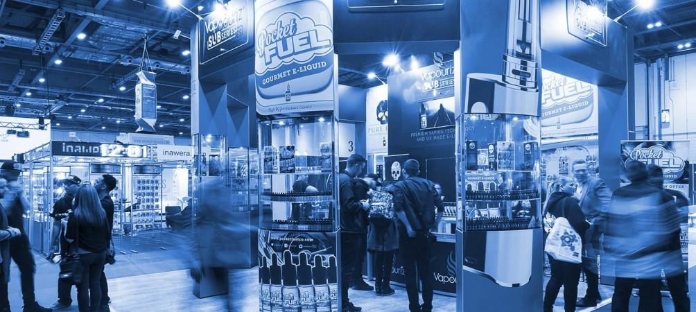 Exhibition Stand Design for e-cigarettes