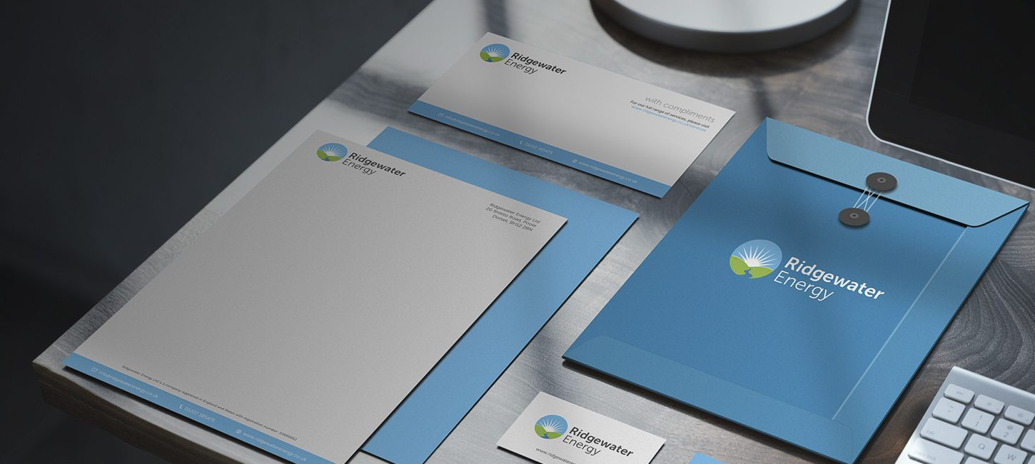 Corporate Stationary Design for Ridgewater Energy