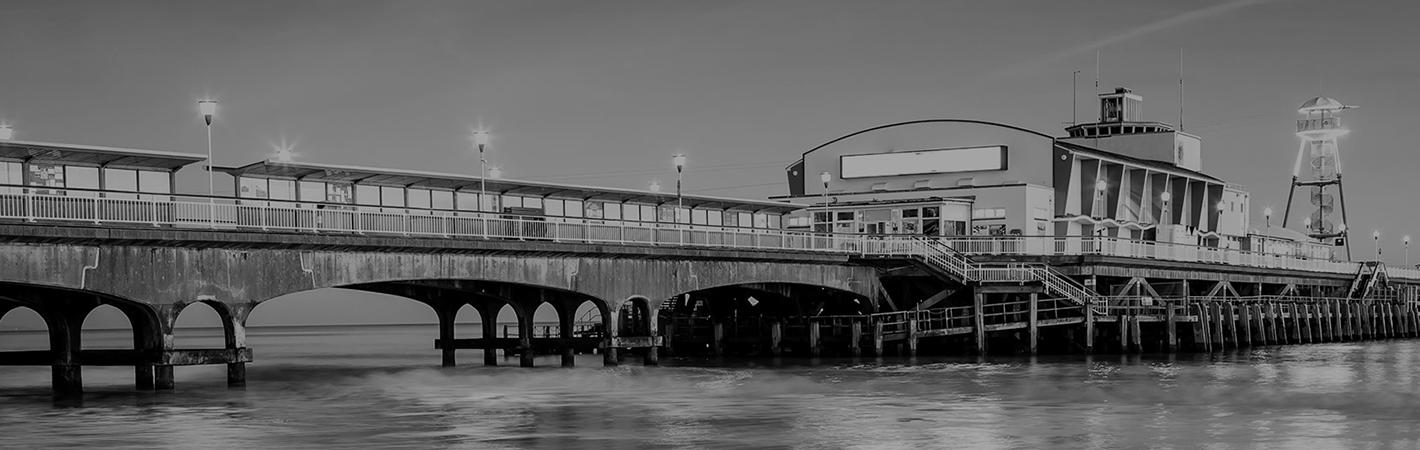 Bournemouth pier near Rawlins Davy