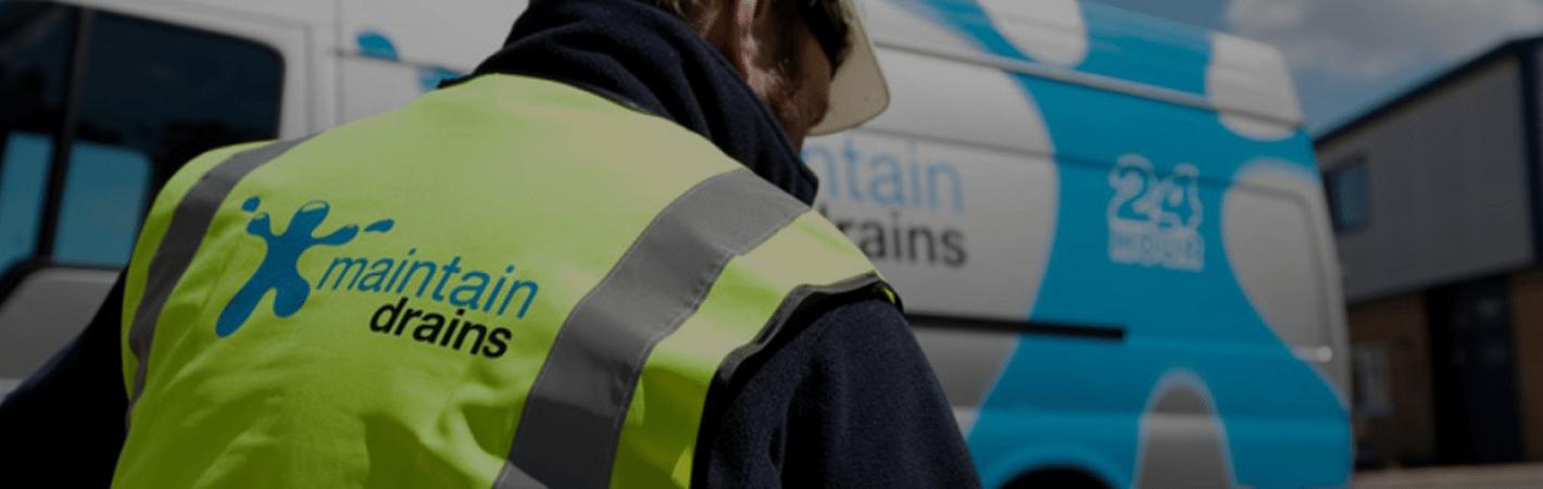 Maintain Drains clearing drains
