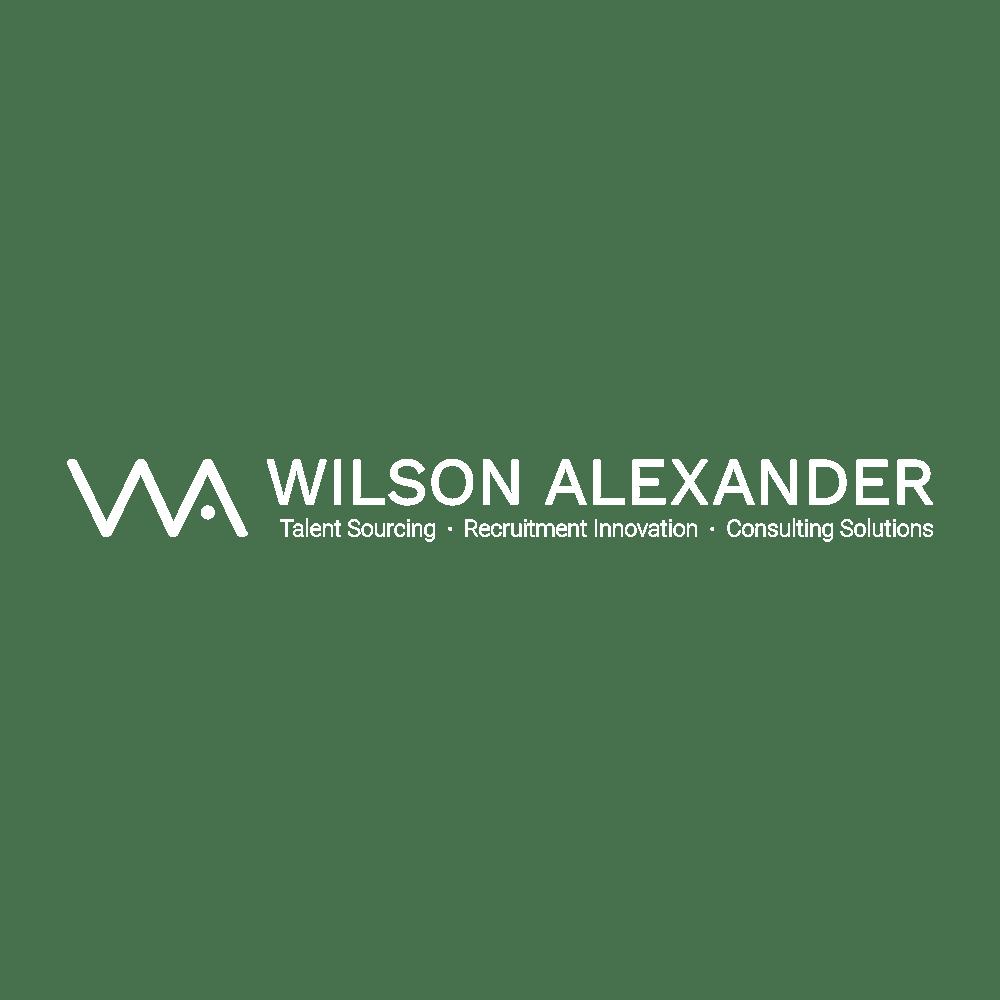 White Wilson Alexander logo