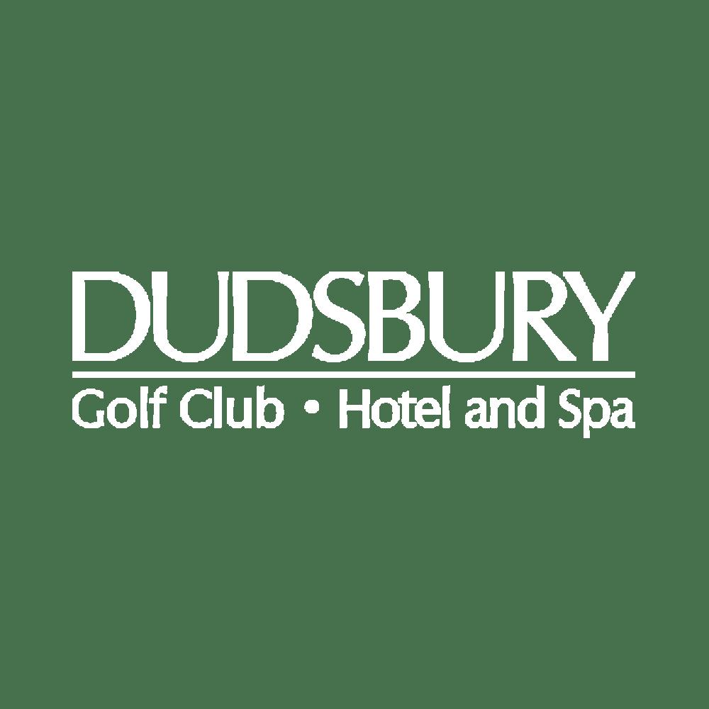 dudsbury logo white