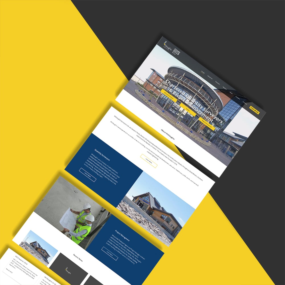 McNaughts Website Design
