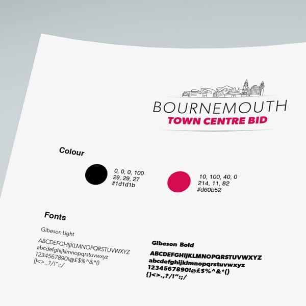 Bournemouth Bid Branding