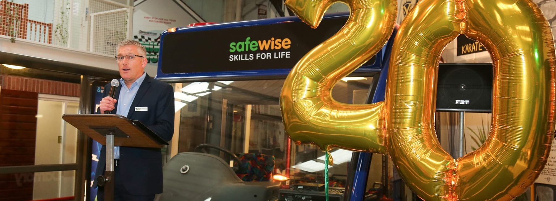 Digital Storm attends Safewise 20th Anniversary celebrations