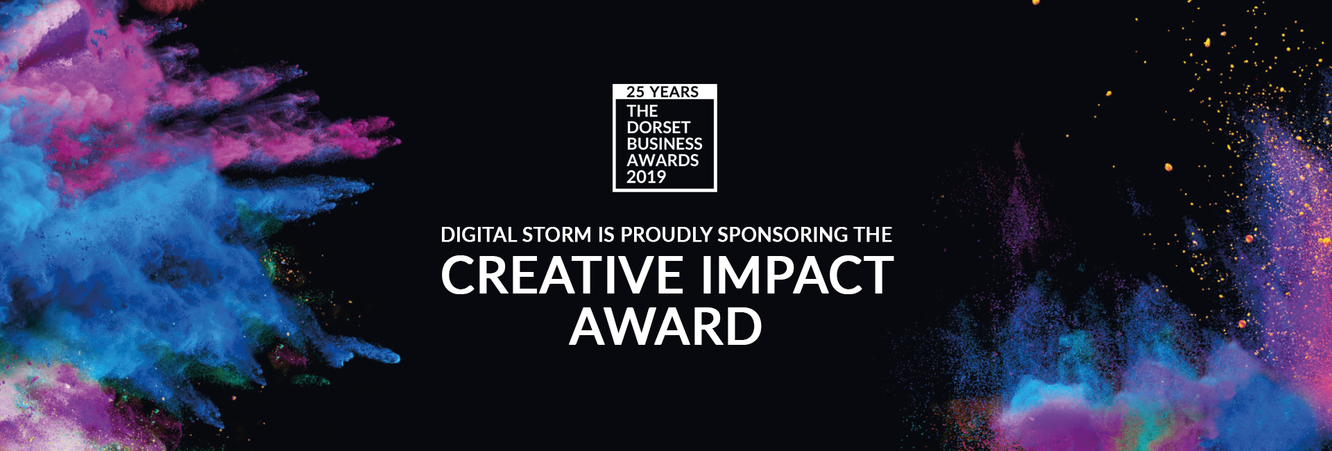 Digital Storm & Liz Lean PR sponsor 2019's Creative Impact Award for the Dorset Business Awards