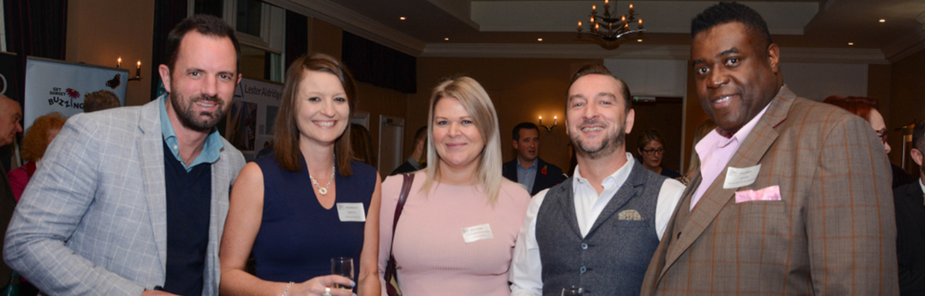 Digital Storm attend Dorset Business Awards 2019 'Meet the Finalists' reception