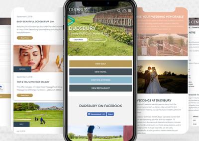 Dudsbury Mobile Web Design