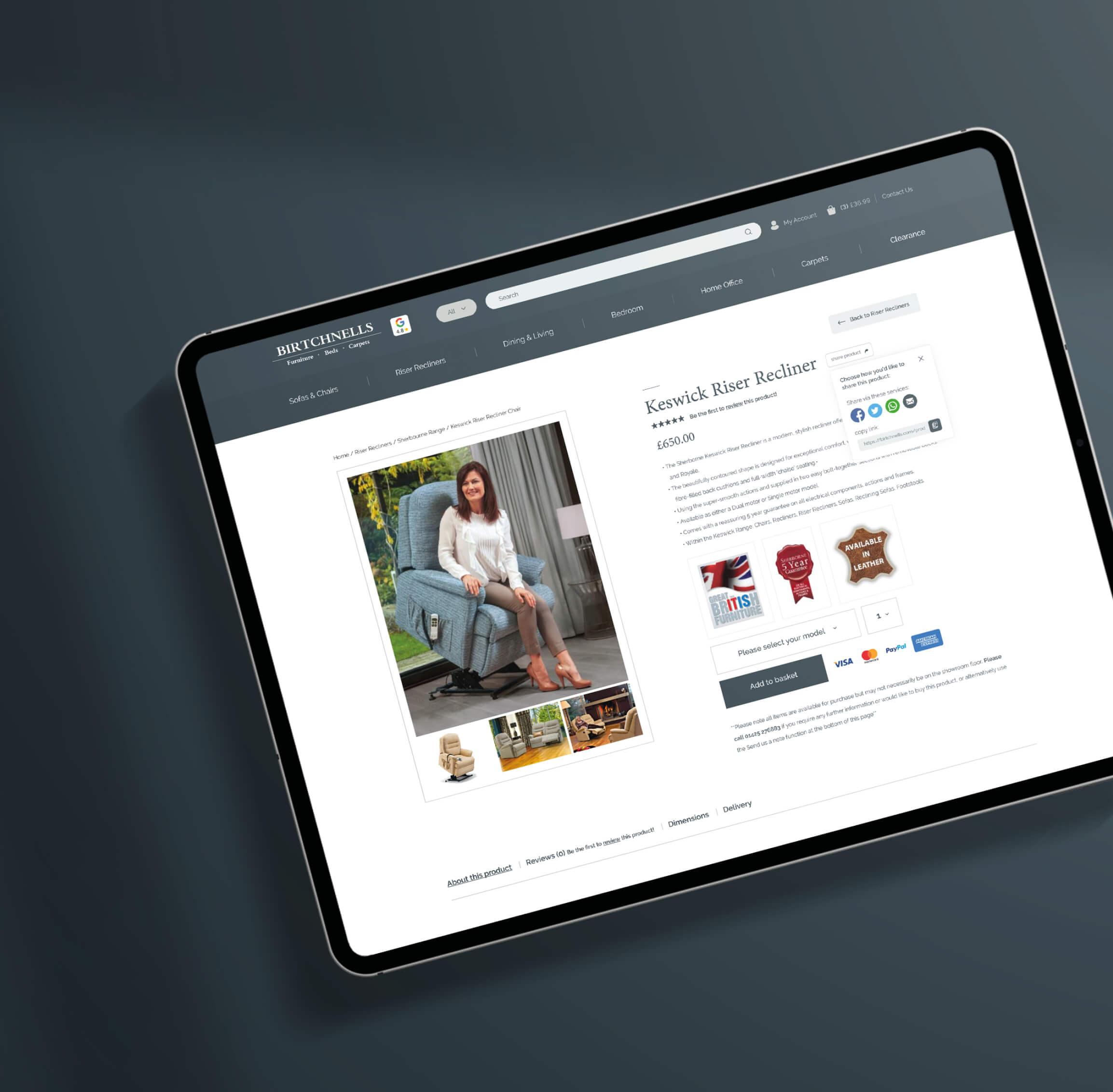 Birtchnells Website Design