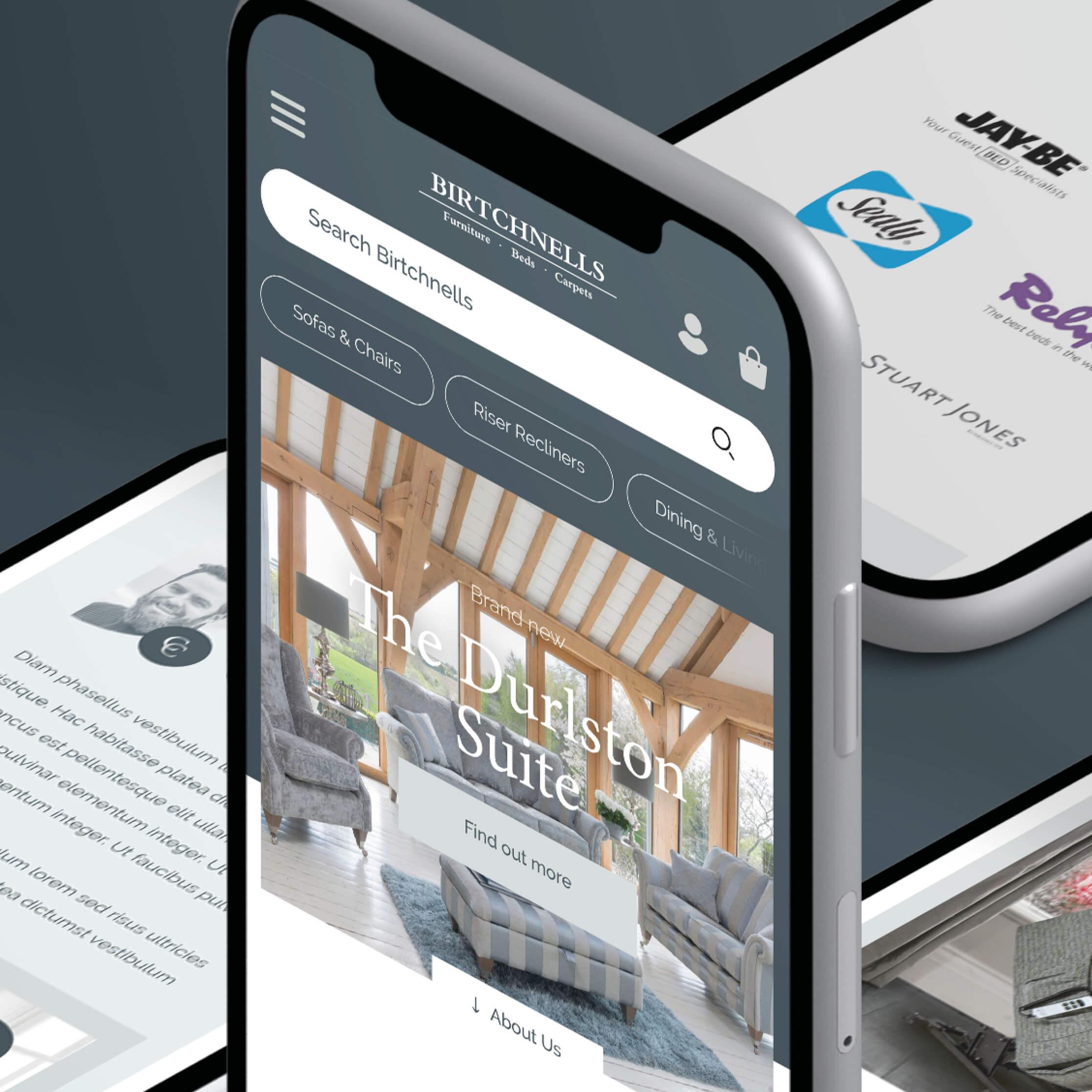 mobile furniture website